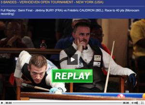Screenshot video demi-finale NY 2016